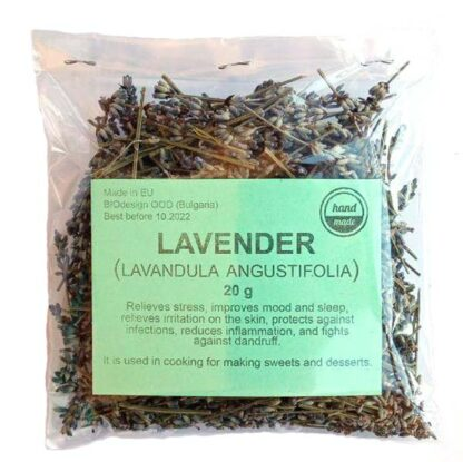 lavender herbal tea