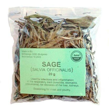 organic sage tea